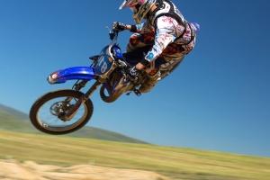 motocicleta, conductor, deporte extremo, motocrós, el motor
