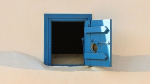 puerta, entrada, casa, madera
