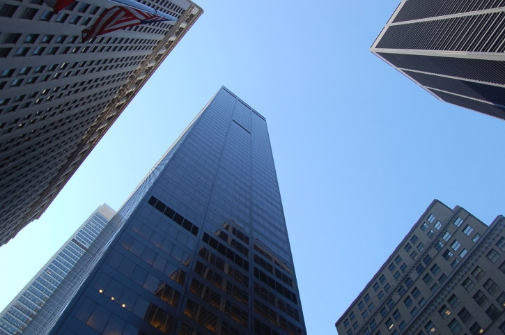 offices, buildings, downtown, reflection, skyscrapers, steel, tall, tower, urban, window
