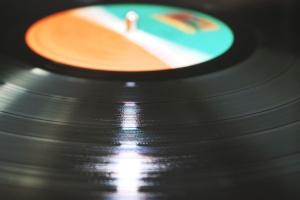 suono, vinile, la musica, plastica, riflessione, rotondo, lucido