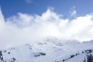 snijeg, vrijeme, zima, hladno, magla, vrh