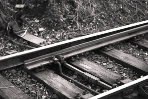 metal, railroad, railway