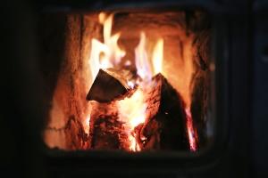 fiamma, calore, caldo, fumo, caldo, legna da ardere