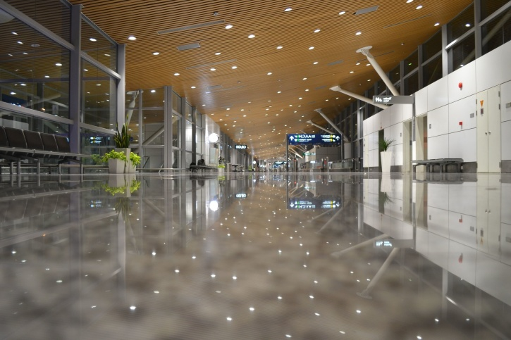 Free Picture Interior Design Airport Architecture