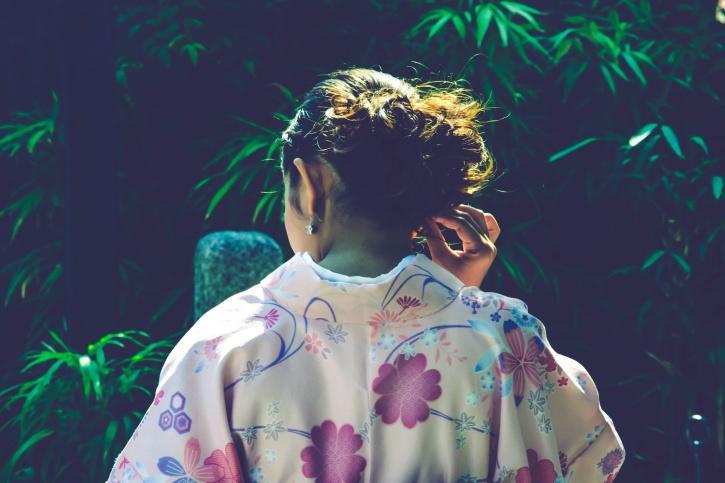Японската култура, рокля, мода, жени, коса