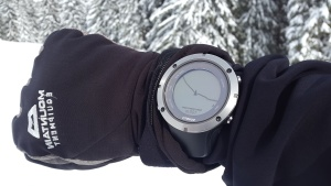 frost, Alps, cold, wristwatch, winter