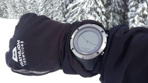 gelo, Alpi, freddo, orologio da polso, inverno