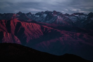 Berg, berg, bergen, natuur