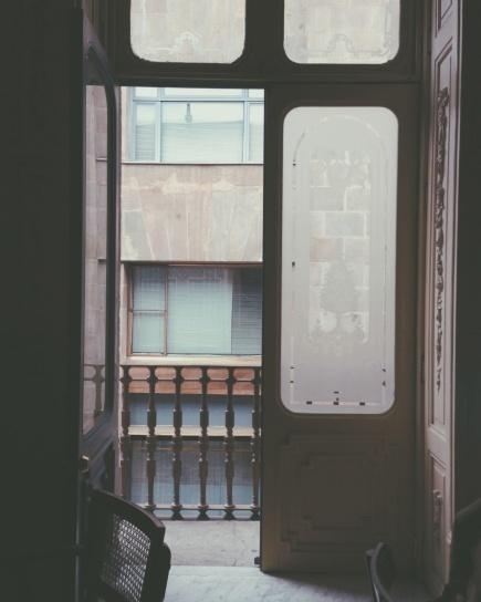 Free Picture Antique Interior Architecture Frame Glass Door