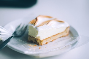 plate, sweet, cake, dessert, food, fork