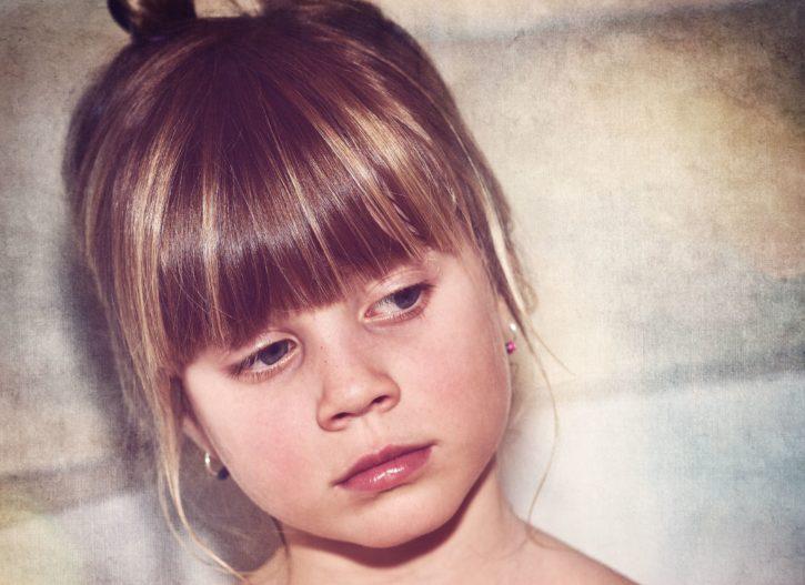portret, plava kosa, dijete, lice, moda, glamur, kosa