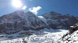 Sonne, Himmel, Winter, Berg, Gipfel, Natur, Felsen