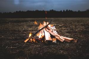пожар, дърва за огрев, пламък, горещо, горят, лагерен огън