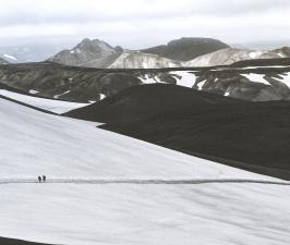 Bergen, natuur, winter koud, buitenshuis,