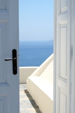 door, entrance, house, architecture, building, sea