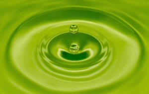 cirkel, abstract, water, ronde, water, groen