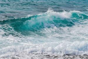 tenger, seascape, tengerpart, splash, nyári, víz, hullámok