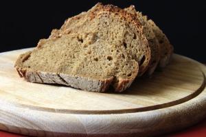 sliced bread, food, diet, wood