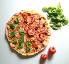 diet, crust, dish, food, meal, pizza, tomato
