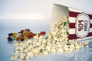 jídlo, popcorn, občerstvení