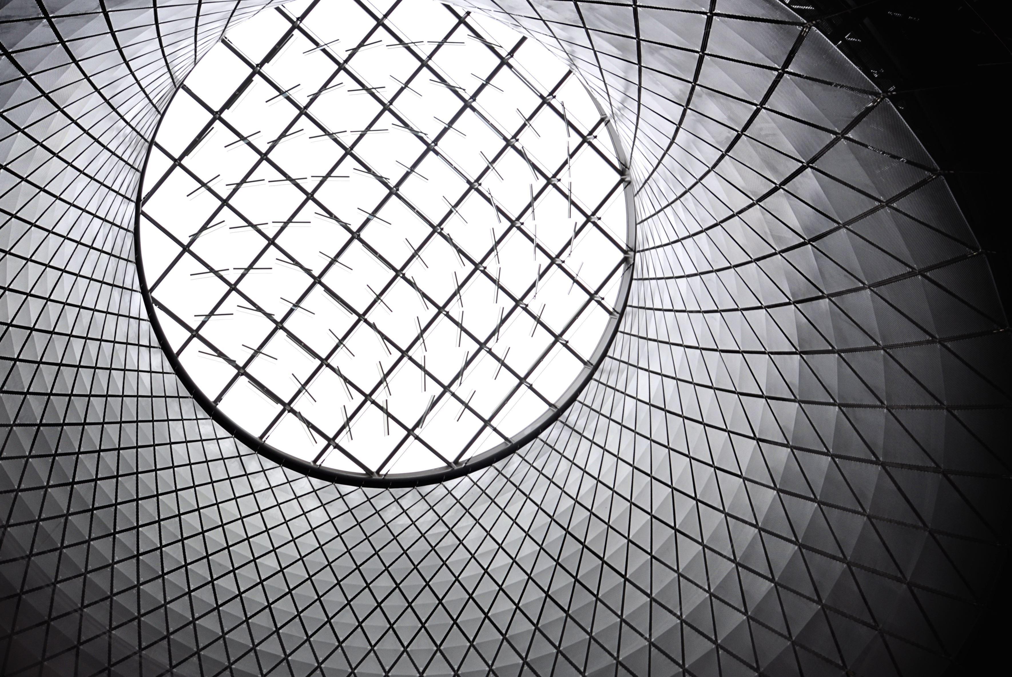 Image libre aluminium b timent moderne architecture for Architecture geometrique