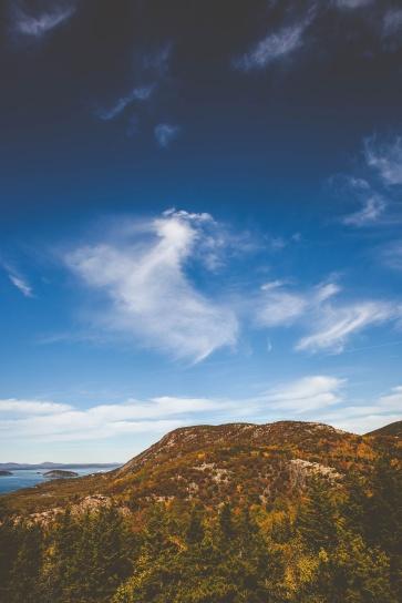 vuori, luonto, maisema, luonnonkaunis, taivas, vesi