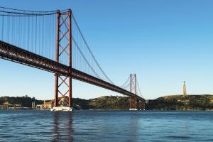 arhitectura, pod, infrastructura, mare, pod suspendat, apă