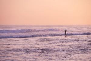 nước, sóng, bãi biển, đẹp, bờ biển, silhouette, bầu trời, mùa hè