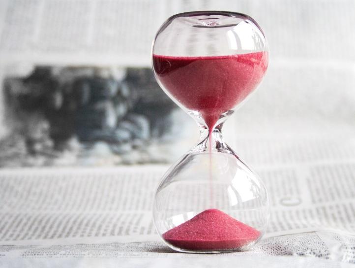 sand, tid, timer, glas, timer, avis