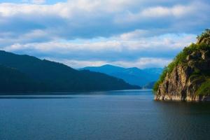 river, landscape, sky, water, nature