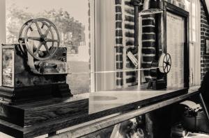объектив, ретро, окно, Фото камеры