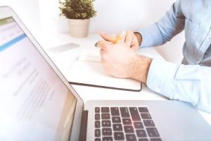 dolgozni, írás, üzlet, számítógép, kapcsolat, laptop számítógép, ember, notebook, office