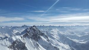 altitude, Austria, blue sky, clouds, cold, mountain, winter, sky, snow