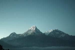 volcan, l'hiver, la nature, le froid, la montagne