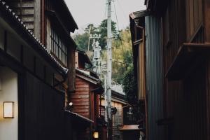 casa, calle, sombra, ciudad, arquitectura, construcción