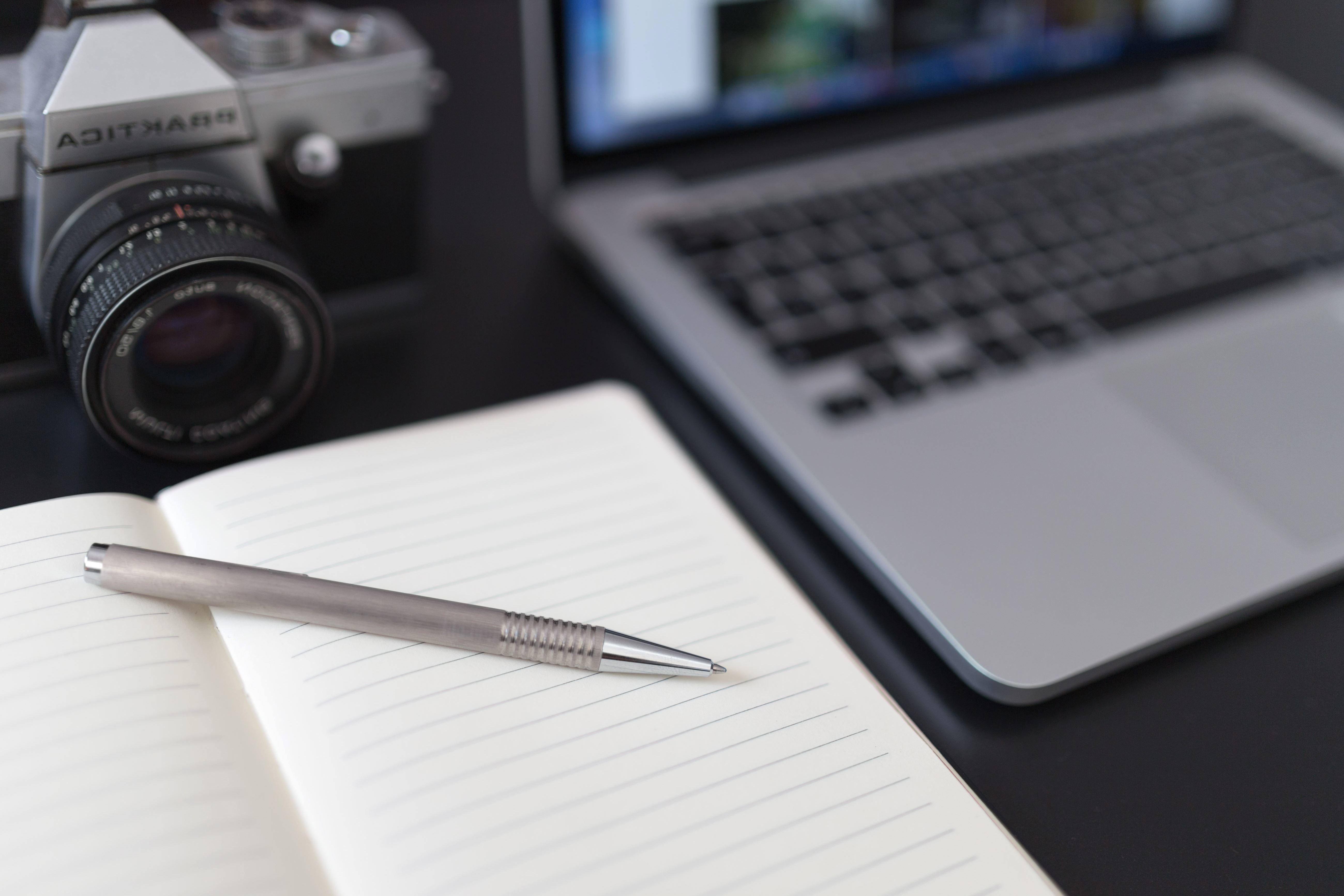 Imagen gratis cuaderno l piz c mara ordenador port til for Camera blueprint maker gratuito