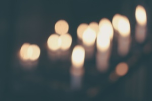 candles, celebration, light, dark, night