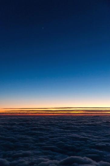 스카이, 일출, 일몰, 구름, 지평선