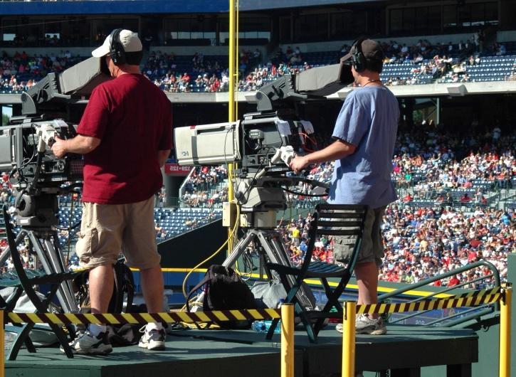 sport, fan, stadium, technology, television, video, camera