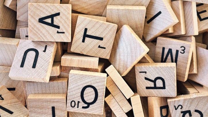 дърво, кутия, дървени, писма