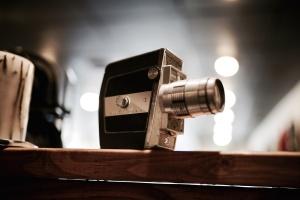 Античный, диафрагмы, аналог, фотоаппарат, классический, технологии