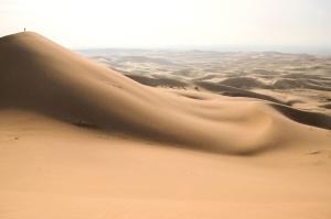 zandduinen, woestijn, zand, heuvellandschap, warm,