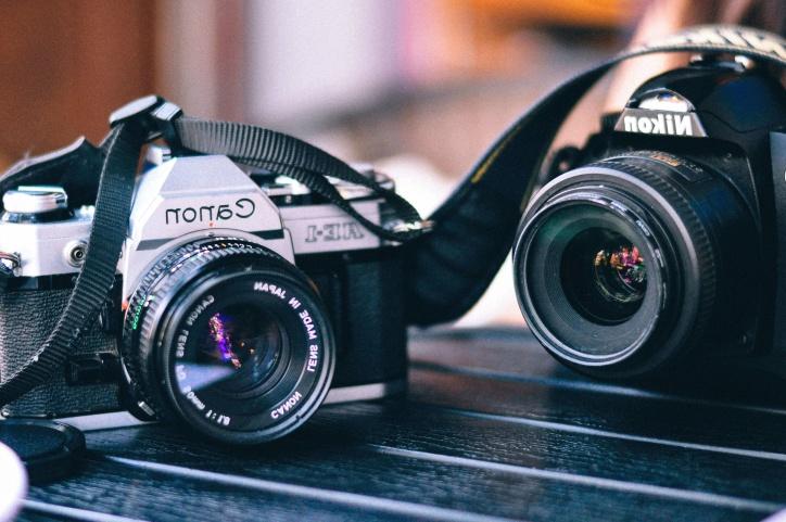 Фото камеры, объектива, цифровой фотоаппарат, фотографии