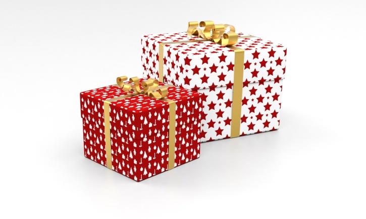 pacchetto, presente, sorpresa, celebrazione, regali