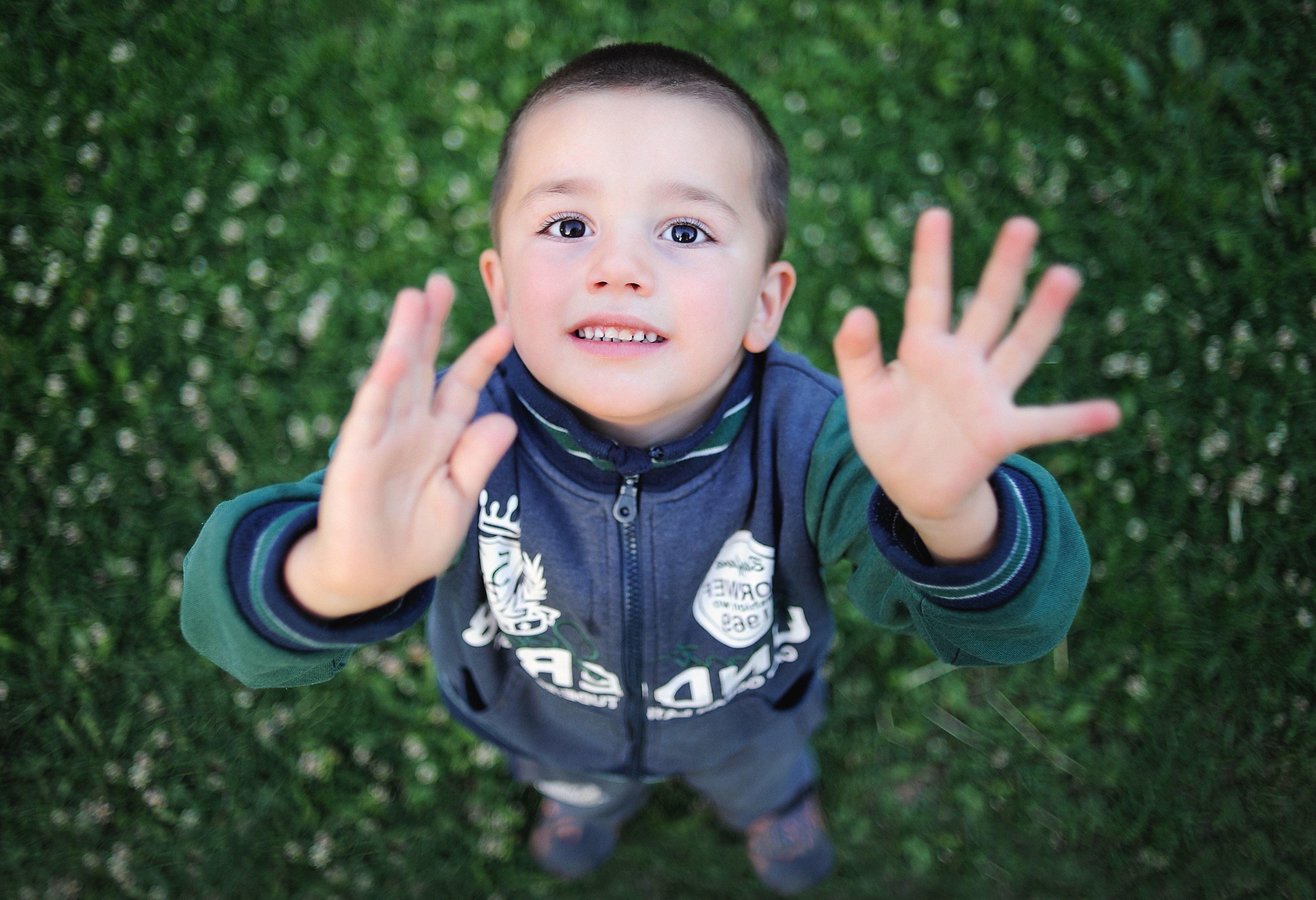 Free Picture Baby Boy Child Childhood Cute Face Grass