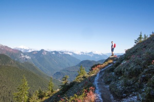 절벽, 모험, 풍경, 사람, 산, 하늘, 여행