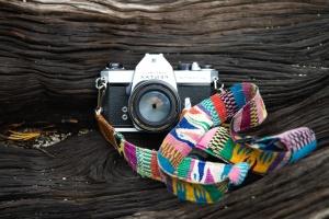 appareil photo, la couleur, l'art, rétro, bois, conception, équipement