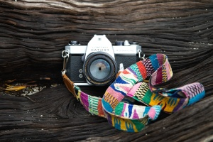 fotocamera, kleur, kunst, retro, hout, design, apparatuur