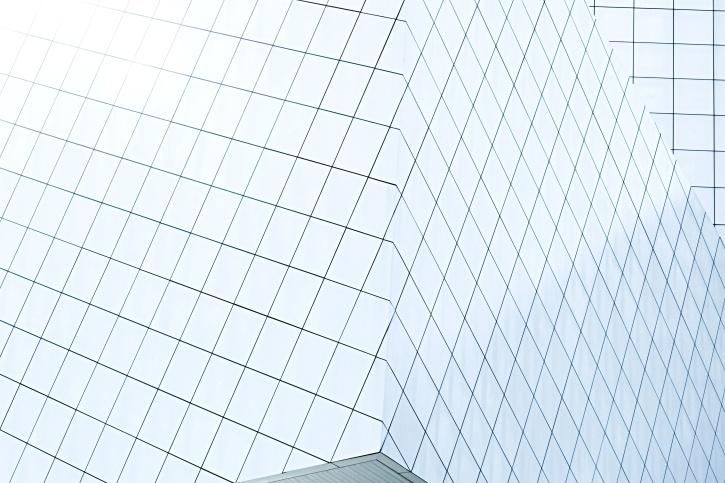 фасад, геометричні фігури, сітки, сучасний, площі, сталь, архітектура, будівництво