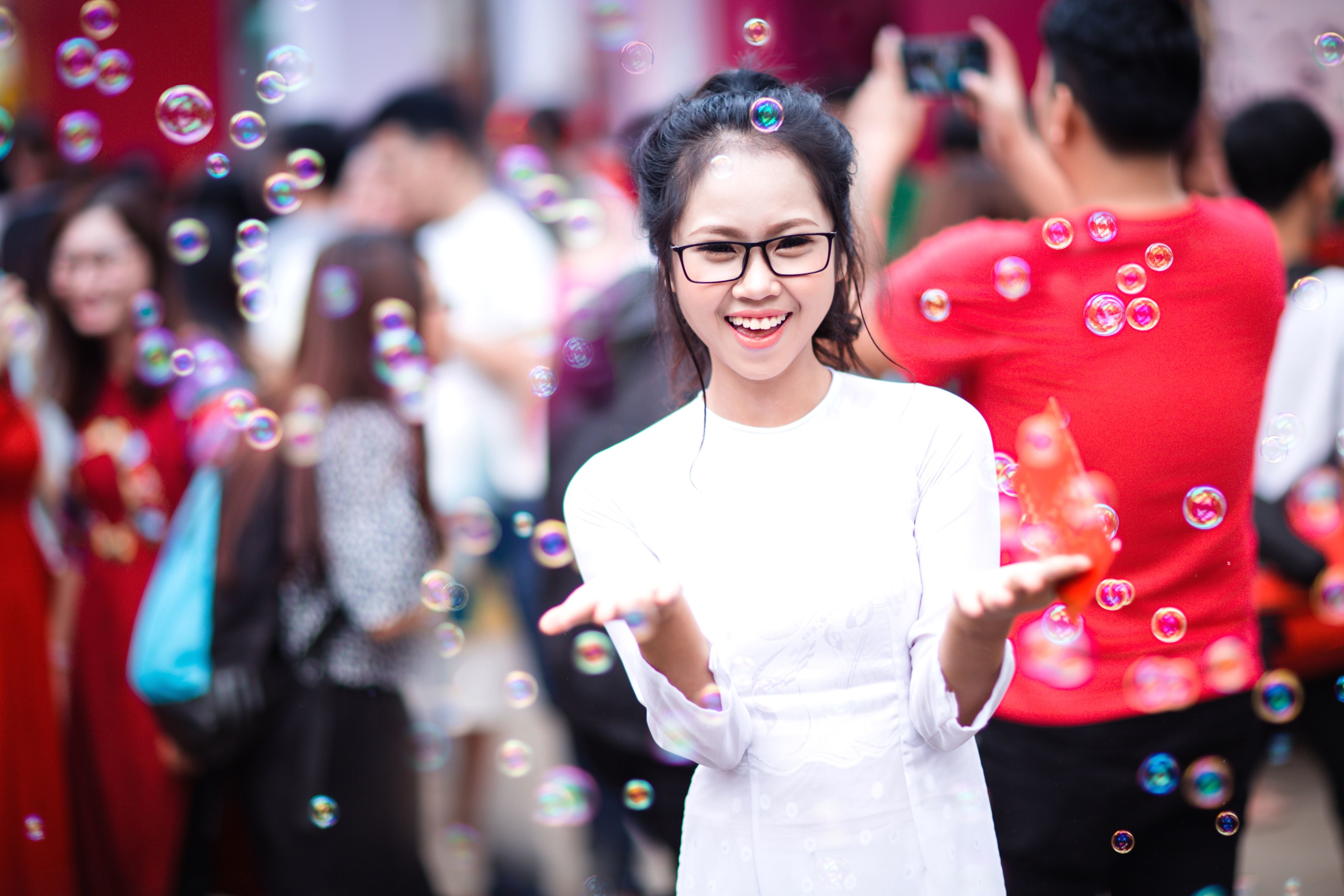 Free Picture Girl Happy Photo Model People Person